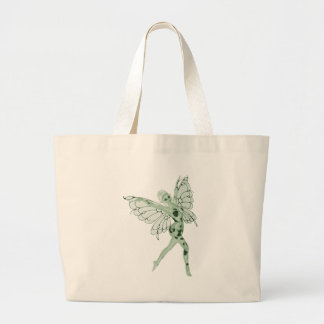 Absinthe Art Signature Green Fairy 8 Large Tote Bag