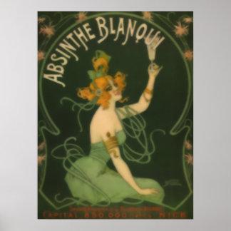 Absinthe Blanoui Poster