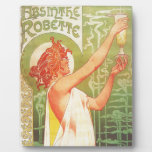 Absinthe Blanqui Vintage French poster advert Photo Plaques