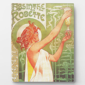 Absinthe Blanqui Vintage French poster advert Plaque