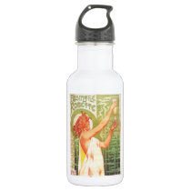 Absinthe Blanqui Vintage French poster advert Water Bottle