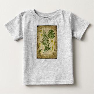 Absinthe Botanical Collage Baby T-Shirt