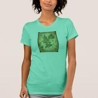 Absinthe Botanical Collage T-Shirt