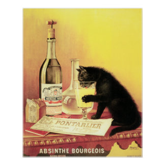 Absinthe Bourgeois Large Copy Poster