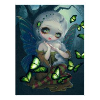 """""""Absinthe Butterflies"""" Postcard"""