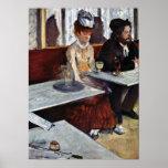 Absinthe by Edgar Degas Print