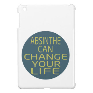 Absinthe Can Change Your Life iPad Mini Cover