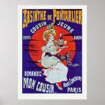 Absinthe de Pontarlier Poster