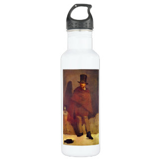 Absinthe Drinker by Edouard Manet 24oz Water Bottle