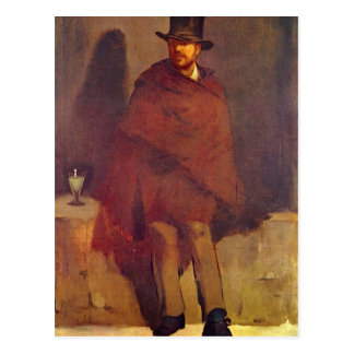 Absinthe Drinker by Edouard Manet Postcard
