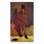 Absinthe Drinker by Edouard Manet Print