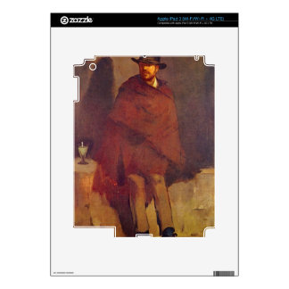 Absinthe Drinker by Edouard Manet iPad 3 Decal