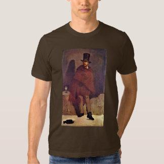 Absinthe Drinker By Manet Edouard Tshirt