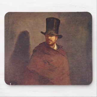 Absinthe Drinker - Edouard Manet Mouse Pad