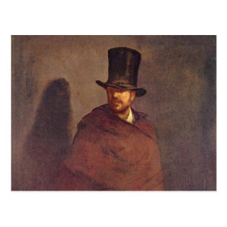 Absinthe Drinker - Edouard Manet Postcard