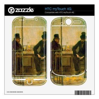 Absinthe Drinkers by Raffaellino da Reggio HTC myTouch 4G Skin