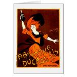 Absinthe Ducros Fils Greeting Card