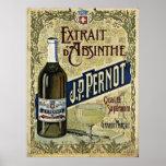 Absinthe Extrait J.P.Pernot Print