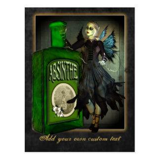 Absinthe Faerie Postcard