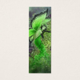 Absinthe Fairy Bookmark - La Fée Verte Mini Business Card