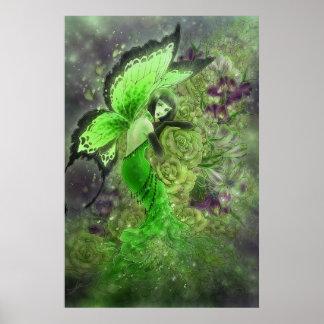 Absinthe Fairy Fantasy Art Poster
