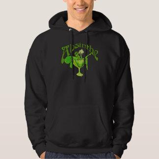 Absinthe Girl In Glass Hoodie