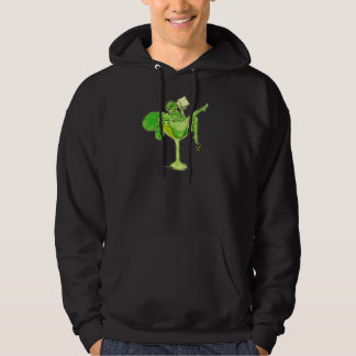 Absinthe Girl In Glass (no text) Hoodie