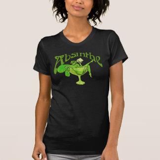 Absinthe Girl In Glass T-Shirt