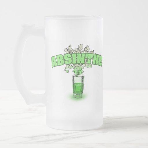 Absinthe Glass Coffee Mug