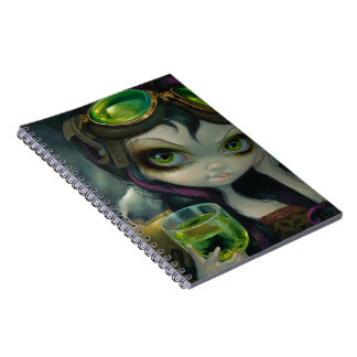 """Absinthe Goggles"" Notebook"