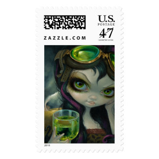 """""""Absinthe Goggles"""" Stamps"""