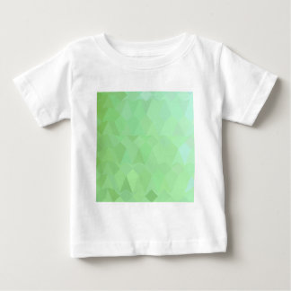 Absinthe Green Abstract Low Polygon Background Baby T-Shirt