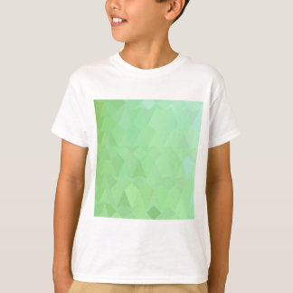 Absinthe Green Abstract Low Polygon Background T-Shirt