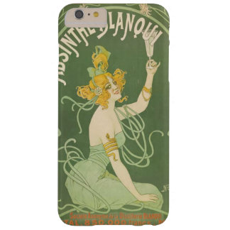 Absinthe Green Fairy Art Nouveau Vintage Barely There iPhone 6 Plus Case