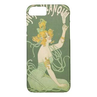 Absinthe Green Fairy Art Nouveau Vintage iPhone 8/7 Case