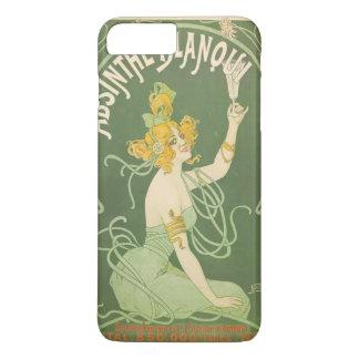 Absinthe Green Fairy Art Nouveau Vintage iPhone 8 Plus/7 Plus Case