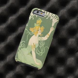 Absinthe Green Fairy Art Nouveau Vintage Tough iPhone 6 Case