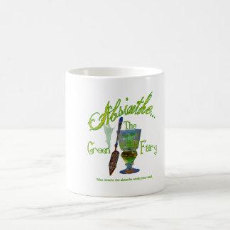 Absinthe Green Fairy III Classic White Coffee Mug