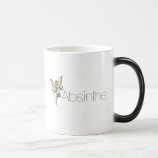 Absinthe Green Fairy In 3D Magic Mug