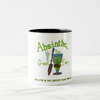 Absinthe Green Fairy Mug