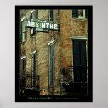 Absinthe House Bar Poster