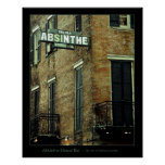 Absinthe House Bar Print