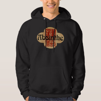 Absinthe Imaginary Bottle Lable Hoodie