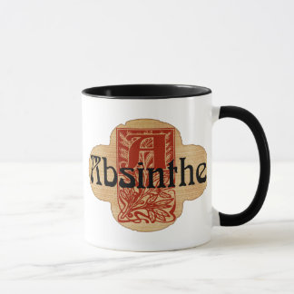 Absinthe Imaginary Bottle Lable Mug