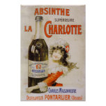 Absinthe La Charlotte Posters