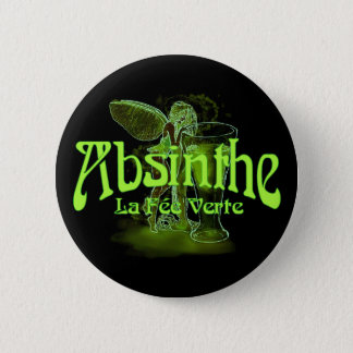 Absinthe La Fee Verte Fairy With Glass Button
