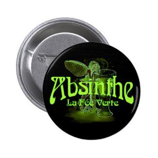 Absinthe La Fee Verte Fairy With Glass Button