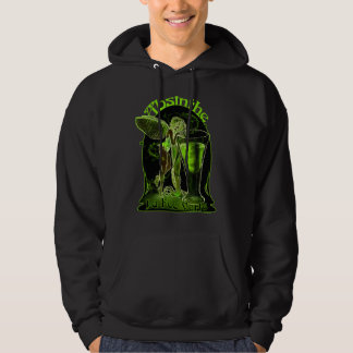 Absinthe La Fee Verte Fairy With Glass Hoodie