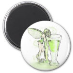 Absinthe La Fee Verte Fairy With Glass (no text) Magnet