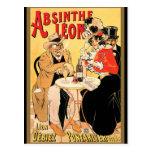 Absinthe Leon Post Card